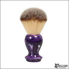 Shaving Brush - Maggard Razors - Purple 24mm Synthetic Brush