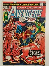 Marvel AVENGERS #112 (1973) 1st Appearance of Mantis, Scarlet witch Leaves