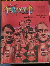 THE VIP OF GAMING MAGAZINE SPACE GAMER 1943 HITLER FDR APRIL/MAY 1986 ~ COMPLETE