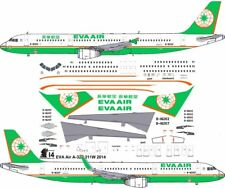 EVA Airbus A-321 decals for Revell 1/144 kit