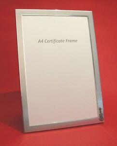 A4 Certificate Picture Frame Violin Music Design School Diploma Award NEW