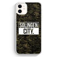 Solingen City Camouflage iPhone 11 Hülle Motiv Design Deutschland Militär Cov...