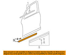 HONDA OEM 2006 CR-V Front Door-Upper Molding Trim Left 75322S9AJ02ZY