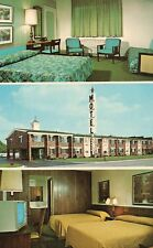 3 views The Telegraph House Motel Southfield MI Michigan Hotel Motel Postcard