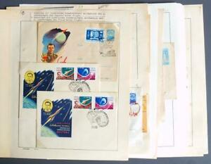 RUSSIA 1962-63 SPACE Collection MNH/**  + used Stamps + Covers ,Vostok,Cosmonaut