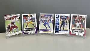 NFL RB Lot - 5 Card NFL RB Base Card Lot - 5 Card Lot #4