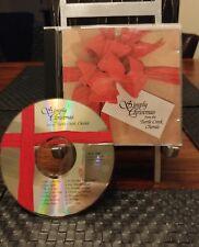 Turtle Creek Chorale : Simply Christmas CD