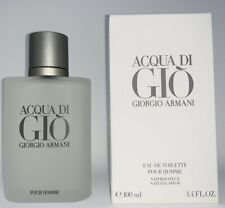 Acqua Di Gio 3.4 oz EDT Cologne Spray Men Giorgio Armani Brand New Sealed