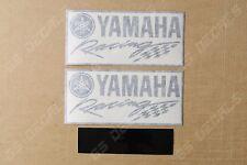 2x Yamaha Racing Premium Cast Decals Stickers YZF R1 R3 R6 FJR MT XT    120mm