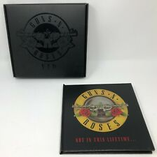 Guns N Roses - Not in This Lifetime Book Box Ticket VIP Pass Picks Accessories