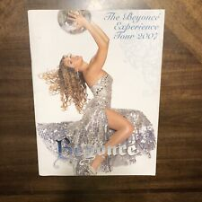 Beyonce 2007 The Beyonce Experience Tour Concert Program Book Booklet