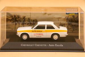 IXO 1:43 Chevrolet Chevette Auto Escola Diecast Models Car Collection