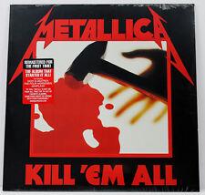 METALLICA Kill Em All LP vinyl 2016 Blackened  NEW/SEALED