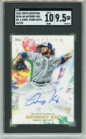 2020 Topps Inception Anthony Kay RC Auto #'045/245 (Blue Jays) SGC 10 / 9.5 MT+