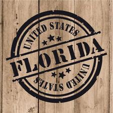 Vinilo de Corte Florida Pegatina Florida USA United States 10 cm Adhesivo Pared
