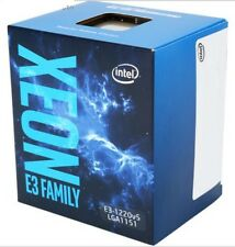 Intel Xeon E3-1220 V5 SkyLake 3.0 GHz 8MB L3 Cache LGA 1151 Server Processor