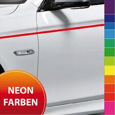 Zierstreifen 10m - 2-15mm NEON Fluoreszierend Tagleuchtend rot gelb grün Auto