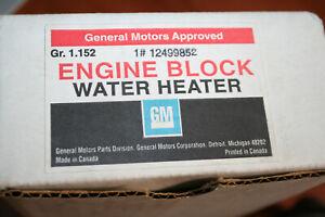 NOS GM Engine Block Heater 12499852 05-07 Uplander Terazza 3.5L 3.9L V6 D