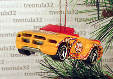 POPCORN DODGE SIDEWINDER CONCEPT CAR YELLOW PICKUP TRUCK CHRISTMAS ORNAMENT XMAS