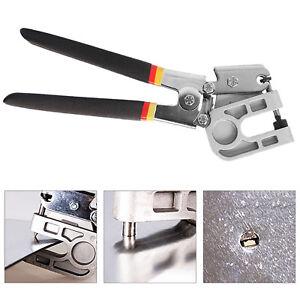"10"" Stud Crimper TPR Handle Metal Punch Pliers Lock Hand Dry Wall Plaster Board"
