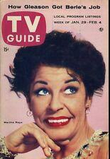 MARTHA RAYE TV GUIDE JAN 29 1955
