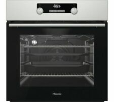 HISENSE BSA5221AXUK Electric Oven with Even Bake & Steam Add - Currys