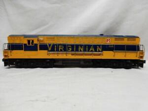 POSTWAR LIONEL 2322 VIRGINIAN, FM TRAIN MASTER DIESEL, C-7 EX, RUNS FINE, NO RSV