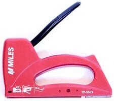 MILES Metall Hand-Tacker TS 5525 Nagler Tackern Heft-Klammern Hand-Werkzeug