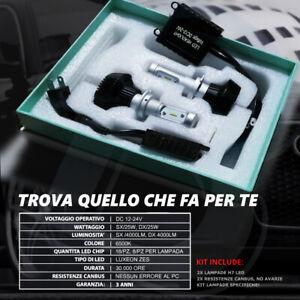 Kit Lampade H7 Led Cree G7 50W Bianco Anabbaglianti Opel Astra H GTC 2004-2014