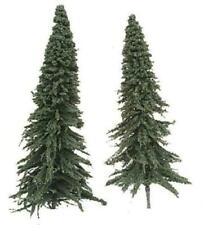 """LARGE 6""""-7"""" PINE TREES PKG OF TEN (10) Model Railroad and Diorama Scenery MIT2"""
