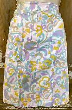 Escada Sport Pastel Floral Skirt Size 36 EUC US 6