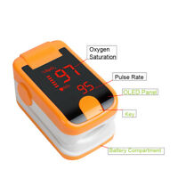 LED Finger Tip Pulse Oximeter Blood Oxygen Heart Rate Meter Sensor SpO2 Monitor