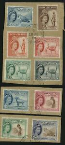 Somaliland 1953 part set fine used