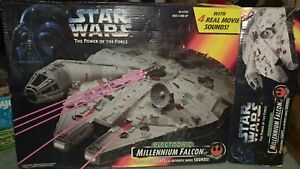1995 Tonka Star Wars POTF Millenium Falcon Mint in Box