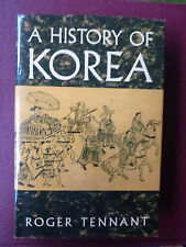 A History of Korea by Roger Tennant (1996, Hardcover)