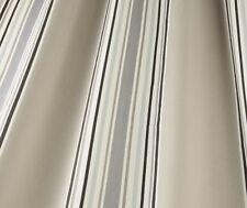 iliv Aquitaine Loiree Charcoal Woven Stripe Curtain/Upholstery Fabric