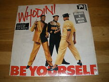 "WHODINI - millie jackson Be Yourself 12"" Single Record - sealed"