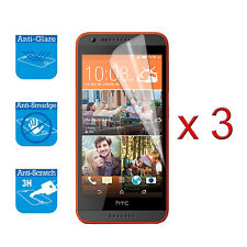HTC Desire 620 Screen Protector Cover Guard Film Foil x 3