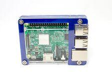 The Slim Zebra Case (True Blue) ~ for Raspberry Pi 3, Pi 2, Pi B+ from C4Labs