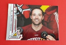 2011/12 Pinnacle Hockey Vernon Fiddler Card #47***Phoenix Coyotes***