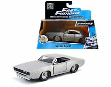 Jada 1/32 DOM'S DODGE CHARGER R/T BARE METAL SILVER Fast and Furious Diecast Car