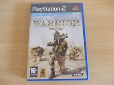 PLAYSTATION 2. FULL SPECTRUM WARRIOR GAME WITH NET PLAY