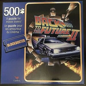 Cardinal 500 Piece Puzzle - Back to the Future part 2 - 11 inches X 14 inches