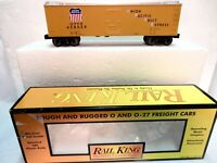 MTH Rail King Union Pacific Reefer Car O Gauge Freight Car-Sprung Trucks-w box!-