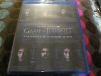 "COFFRET 4 BLU-RAY NEUF ""GAME OF THRONES - SAISON 6"""