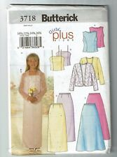Butterick # 3718 Girl's Plus Jacket-Top and Skirt  Pattern Sz 10 1/2- 16 1/2 UC