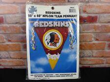 "Washington Redskins Nylon Team Pennant  Size 28' x 40"""