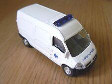 Norev Mini Jet 3 inch  RENAULT MASTER 2003 Ambulance 1:64 mint