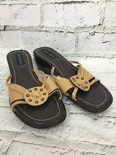 Dorothy Perkins Women's Brown Tan Sandals Wedges Size UK 7 US 9 (40)