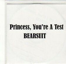 (CA611) Princess, You're A Test, Bearsuit - 2011 DJ CD